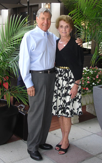 Gary Slaughter with wife Joanne Slaughter